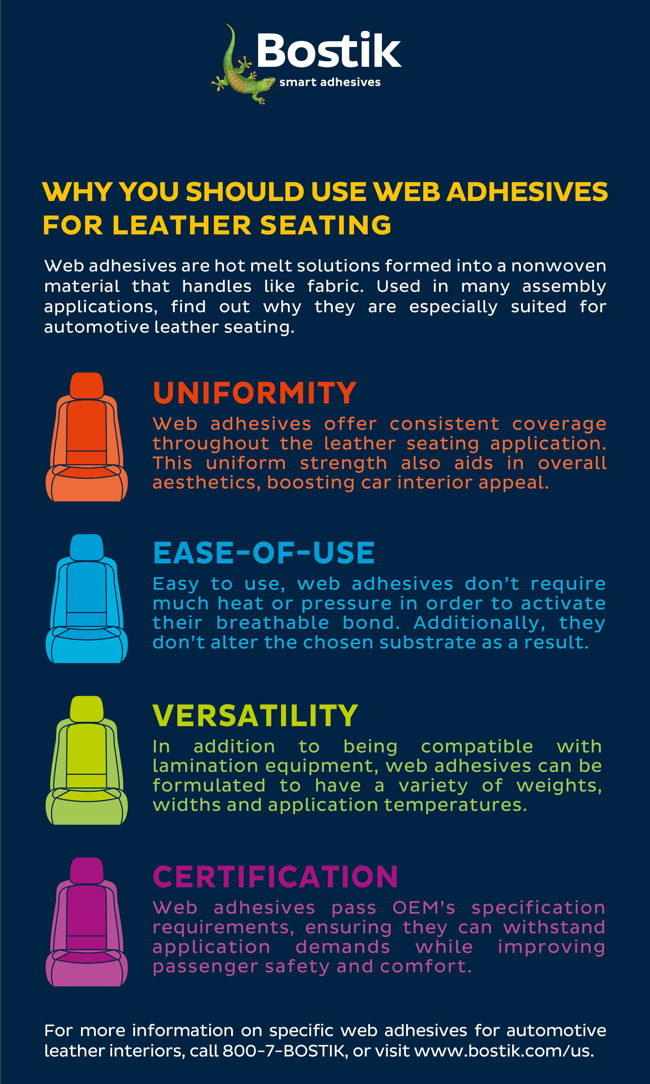 leather seating adhesives