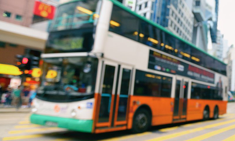 electric double-decker buses