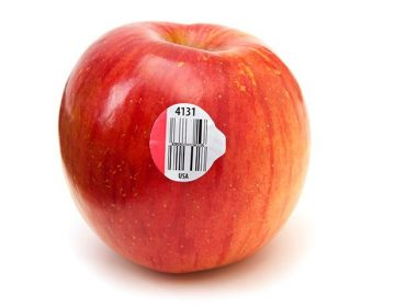 fruit and vegetable labels